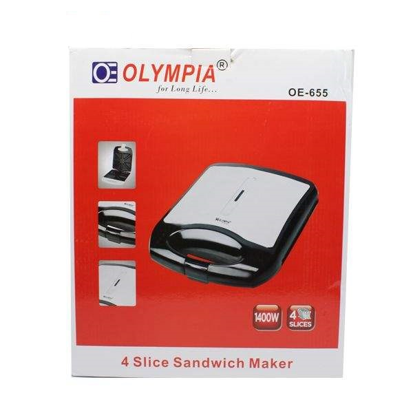 ساندویچ ساز المپیا مدل OE-655