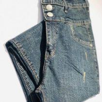 شلوار جین گن دار